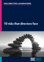 10 risks that directors face