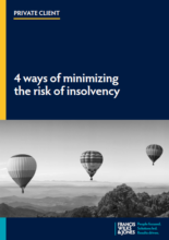 4 ways of minimising the risk of insolvency