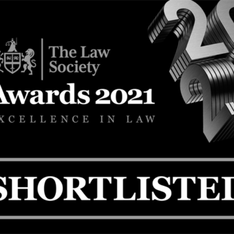 Francis Wilks & Jones selected as a finalist for 'Medium Law Firm of the Year'